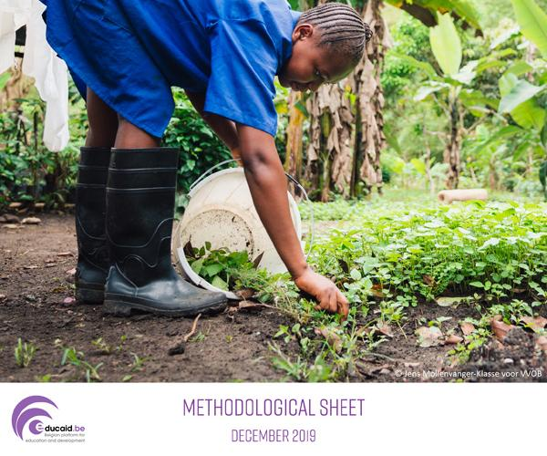 Environment Methodological sheet